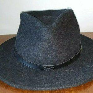 Pendleton Mens Wool Indy Hat Fedora Gray L